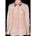 HalfMoonRun - LUISA BECCARIA chiffon blouse - Shirts -
