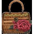 ValeriaM - La Joie Rose Straw Bag - Bolsas pequenas -
