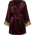 sandra  - La Perla short silk satin robe - Кофты -