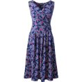 sandra  - Lands' end printed dress - Dresses -