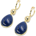Evelin  - Lapis Lazuli Earring - Earrings -