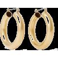 cilita  -  Laura Lombardi Gold-tone hoop earrings - Orecchine -