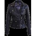 Sabaheta - Leather Skin Women Black Brando Genuine  - Jacket - coats -