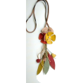 Goreti Jorge - Leather necklace - Necklaces -