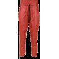 Aida Susi Silva - Leather trousers - BO.BÔ - Spodnie Capri -