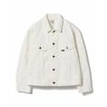 beautifulplace - Lee / White Riders Jacket - Jacket - coats -