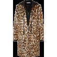 Malanaphy Mees - Leopard faux fur coat - アウター -