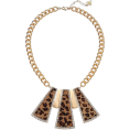 lence59 - Leopard necklace - ネックレス -