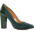 sandra  - Les Autres green heels - Klasični čevlji -