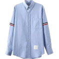 MoonStone - Light Blue Button Classic Coll - Long sleeves shirts -