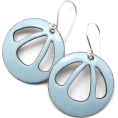 Bev Martin - Light Blue Earrings - Earrings -