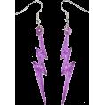 amethystsky - Lightning Bolts Earrings  - Earrings -