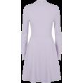 Aurora  - Lilac Ribbed Dress - Платья -