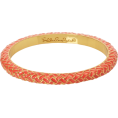 Lilly Pulitzer - Lilly Pulitzer Women's Basket Case Skinny Bangle Pink Salmon - Bracelets - $28.00