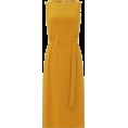 sandra  - Yellow Linea Iyla Tie Front Dress - Dresses -