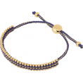 Zmeelis - Links of London navy Vermeil bracelet - Bracelets -
