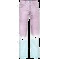 vespagirl - Loewe tie dye straight leg jeans - Traperice - $514.00  ~ 441.47€
