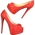 Doozer  - Louboutin coral heels - Classic shoes & Pumps -