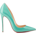 asia12 - Louboutins 2014 turquoise blue (tiffany  - Classic shoes & Pumps -