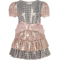 beautifulplace - LoveShackFancy Lucinda Checked Lacquered - Dresses -