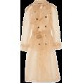 Scapin - MAISON MARGIELA Organza trench coat - Jacket - coats -