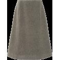 HalfMoonRun - MAISON MARGIELA a-line wool skirt - Skirts -