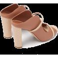 beautifulplace - MALONE SOULIERS  Norah elaphe-effect lea - Sandals -