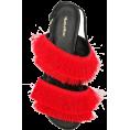 JecaKNS - MARA & MINE layered fringe sandals - Sandals -