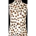 lence59 - MARC CAIN leopard print top - Camicia senza maniche -