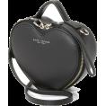 HalfMoonRun - MARC JACOBS black heart bag - Hand bag -