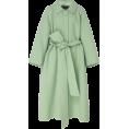 HalfMoonRun - MARC JACOBS oversized wide collar coat - Jacket - coats -