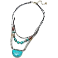 lence59 - MARGAUX TURQUOISE NECKLACE - Collane - $59.00  ~ 50.67€