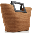 HalfMoonRun - MARINA RAPHAEL straw bag - Hand bag -