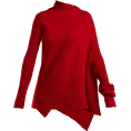 Qiou - MARQUES'ALMEIDA  Asymmetric ribbed-knit - Pullovers -
