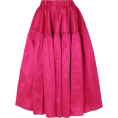 beautifulplace - MARQUES' ALMEIDA Silk-dupioni midi skirt - Skirts -