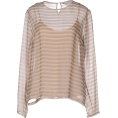 lence59 - MAX MARA Blouse Light brown - Long sleeves shirts -