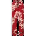 MATTRESSQUEEN  - MCQ ALEXANDER MCQUEEN floral print cropp - Capri hlače -