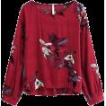 HalfMoonRun - MILUMIA blouse - Shirts -