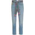 JecaKNS - MIRA MIKATI woven belt cropped jeans - Jeans -