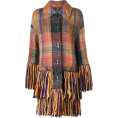 Georgine Dagher - MISSONI fringed cardi coat - Jacket - coats -