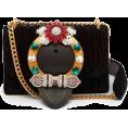 beautifulplace - MIU MIU  Miu Lady matelassé velvet cross - Clutch bags -