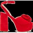 beautifulplace - MIU MIU  Rose-appliqué suede platform sa - Classic shoes & Pumps -