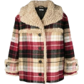 HalfMoonRun - MIU MIU checkered print coat - Jacket - coats -