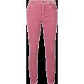 Georgine Dagher - MIU MIU corduroy skinny-fit jeans 490 € - Jeans -