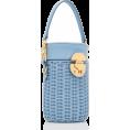 HalfMoonRun - MIU MIU rattan bucket bag - Torebki -