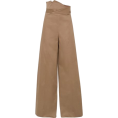 lence59 - MONSE Cotton-blend Wide-leg Pants - Calças capri -