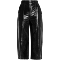 Vampirella24 - MSGM Glossed Faux Leather Culottes - Capri & Cropped -
