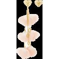 glamoura - Mallarino Bella Mismatched Blush Earring - Earrings -