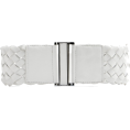 Mango - Mango Women's Braided Waist Belt White - Belt - $19.99