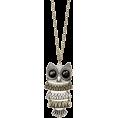 Mango - Mango Women's Chain With Oversize Owl Pendant - Pendants - $19.99
